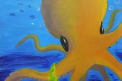 Orange-Octopus